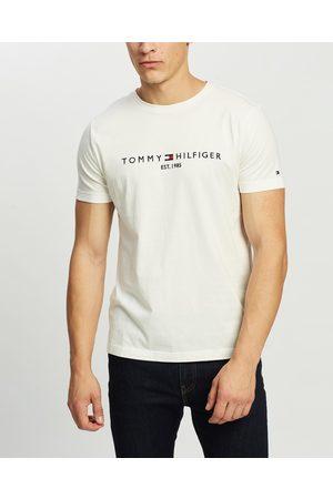 Tommy Hilfiger Men Short Sleeve - Tommy Logo Tee - T-Shirts & Singlets Tommy Logo Tee