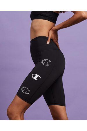 Champion Women Shorts - Hi Rise Bike Shorts - Shorts Hi Rise Bike Shorts