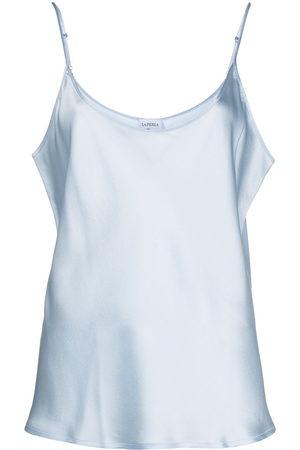 La Perla Women Cami Tops - Scoop-neck satin cami top
