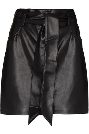 Nanushka Women Mini Skirts - Faux-leather mini skirt