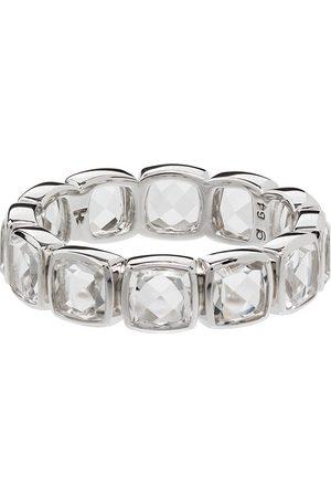 TOM WOOD Men Rings - Cushion Band Rock crystal-embellished ring