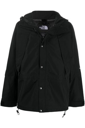 The North Face Men Outdoor Jackets - Embroidered-logo hooded jacket