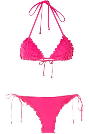 AMIR SLAMA Women Bikinis - Ripple effect bikini set