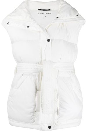 Perfect Moment Belted padded ski gilet