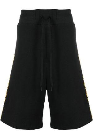 VERSACE Baroque-print cotton shorts