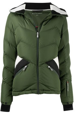 Perfect Moment Panelled detail padded jacket