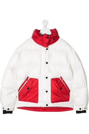 Perfect Moment Girls Winter Jackets - Two-tone padded jacket