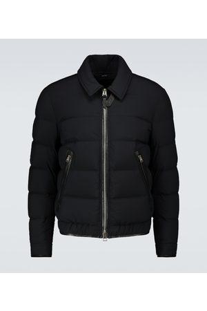 Tom Ford Men Winter Jackets - Down-filled blouson jacket