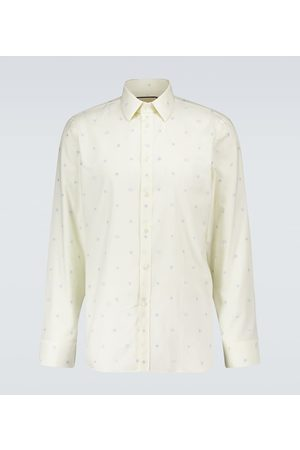 Gucci Symbols fil coupé Oxford shirt