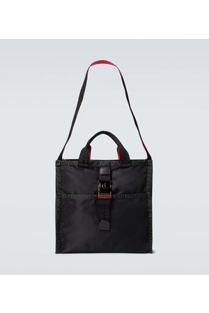 Christian Louboutin Men Tote Bags - Loubiclic nylon tote bag