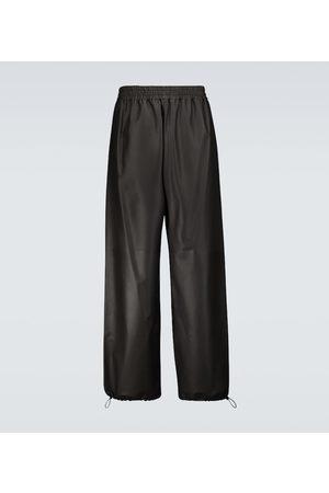 Bottega Veneta Wide-leg leather pants