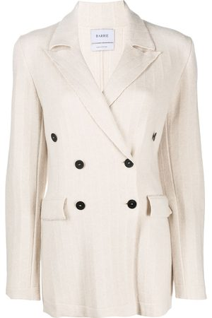 Barrie Double breasted cashmere jacket