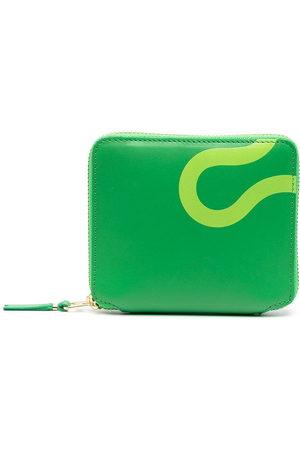 Comme des Garçons Wallets - Geometric print wallet