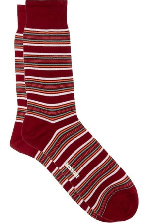 Missoni Striped Cotton-blend Socks - Mens - Multi