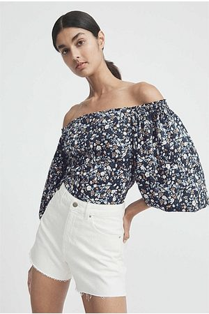 Witchery Off Shoulder Frill Top