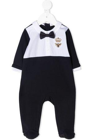Dolce & Gabbana Pyjamas - Bee crown embroidered pajama