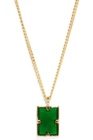 MIANSAI Lennox Enamel & -vermeil Necklace - Mens