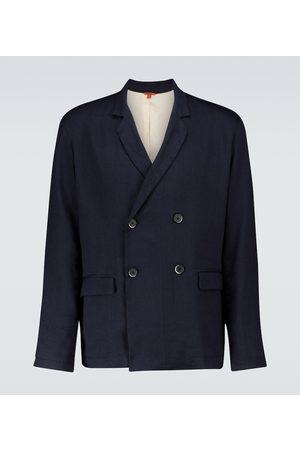 BARENA Marzaro Galone linen-blend blazer