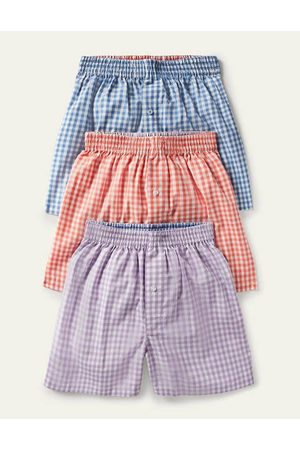 Boden Men Boxer Shorts - 3 Pack Woven Boxers Men