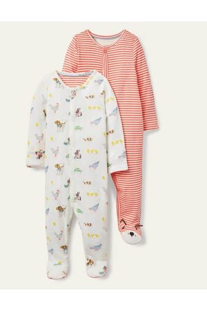 Cubus Organic Twin Pack Sleepsuit Boden