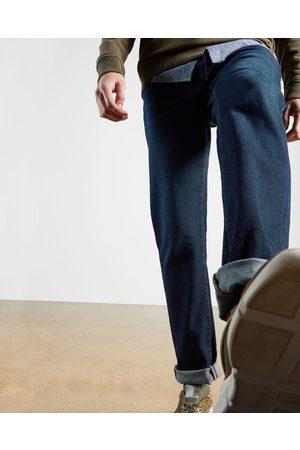 Ted Baker Men Straight - Straight Leg Mid Wash Denim Jean