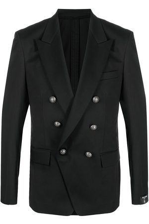 Balmain Double-breasted blazer with embossed buttons
