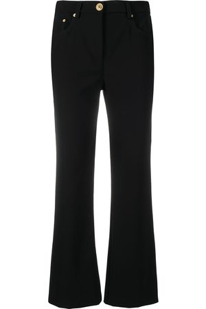 Moschino Women Bootcut & Flares - Mid-rise bootcut jeans