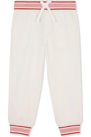 Dolce & Gabbana Striped-trim track pants