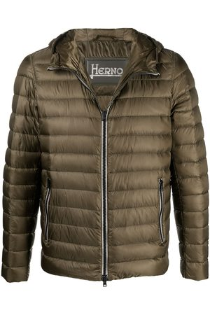 HERNO Men Winter Jackets - Padded hooded jacket