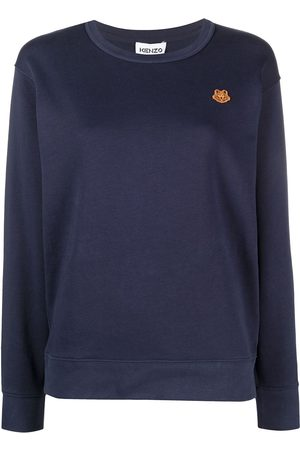 Kenzo Embroidered logo-patch top