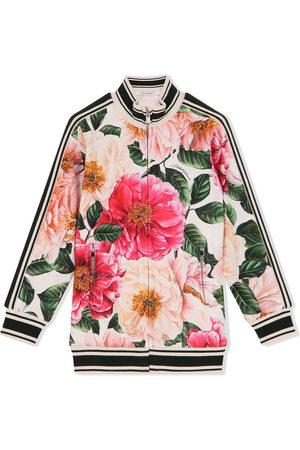 Dolce & Gabbana Floral-print bomber jacket