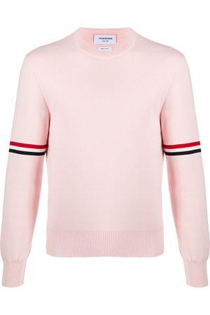 Thom Browne Milano stitch stripe armband jumper