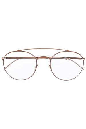 MYKITA Matte-effect round-frame glasses