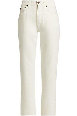 The Row Lesley Straight-Leg Jeans