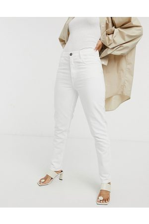 MiH Jeans MiH Mimi high-rise straight leg jeans in white