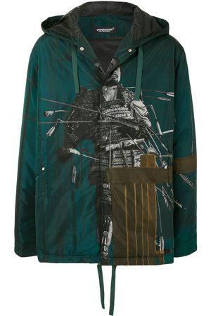 UNDERCOVER Men Hoodies - Photograph-print zipped hoodie