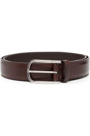 Brunello Cucinelli Men Belts - Smooth-leather buckle belt