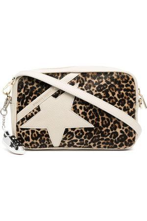 Golden Goose Women Shoulder Bags - Star leopard-print crossbody bag