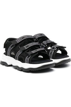 Dolce & Gabbana Logo-strap sandals