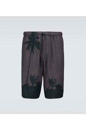 DRIES VAN NOTEN Printed shorts