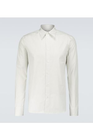 Bottega Veneta Striped cotton shirt
