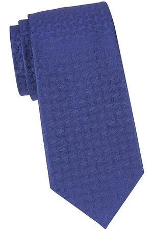 Charvet Geometric Curve Silk Tie