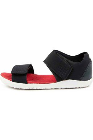 Bobux Girls Sandals - Scuba Jnr Bq Navy Sandals Girls Shoes Casual Sandals Flat Sandals