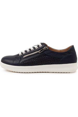 SUPERSOFT Women Casual Shoes - Zarina Su Navy Sole Sneakers Womens Shoes Casual Casual Sneakers