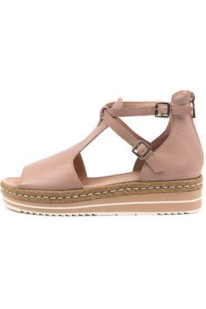 Django & Juliette Women Sandals - Alexys Dj Rose Sandals Womens Shoes Casual Sandals Flat Sandals