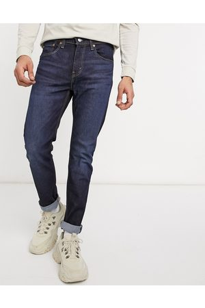 Levi's Youth 512 slim tapered lo ball jeans in myers crescent advanced dark wash-Blue
