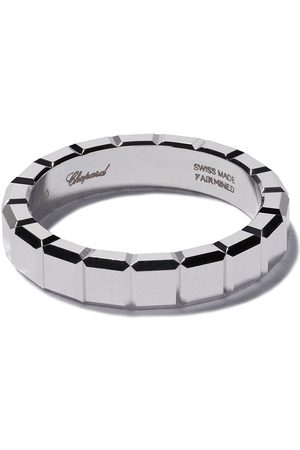 Chopard Women Rings - 18kt white gold Ice Cube ring