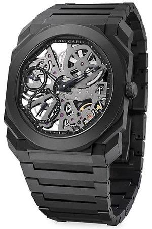 Bvlgari Octo Finissimo Extra-Thin Ceramic Bracelet Skeleton Watch