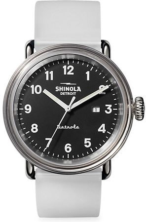 SHINOLA Detrola The Mood Resin, Stainless Steel & Silicone Strap Watch