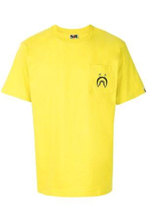 A BATHING APE® Shark patch-pocket T-shirt